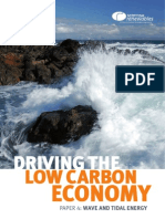 Driving the Low Carbon Economy - Policy Paper 4 - Wave and Tidal