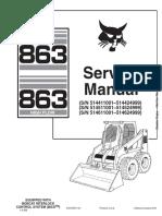 Bobcat 863 Service Manual
