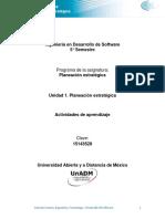 Unidad 1. Actividades de aprendizaje U1