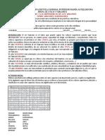 Guía 3-1 de Valores 7c-d