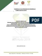 Informe dptal análisis del PEI
