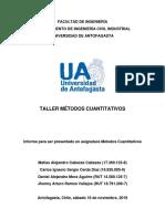 Taller Métodos Cuantativos - M. Cabezas, C. Cerda, D. Mora, J. Ramos