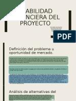 Viabilidad financiera del proyecto