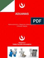 Sesion 6 aduanas pre grado REGIMEN TRIBUTARIO