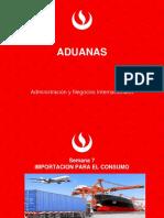 Semana 7  Importacion UPC- Aduanas
