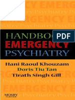 Handbook of Emergency Psychiatry    2007