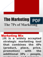 7ps of Marketing