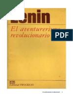 Aventurerismo revolucionario.pdf