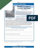 Main Idea Worksheets | 20,000 Leagues Under the Sea - 20-leagues-main-idea