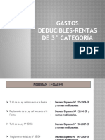 Gastos Deducibles Rta