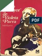 Libro Mayor de Violeta Parra