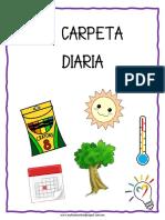CARPETA DE REGISTRO DIARIO 2020 - MY HOMESCHOOL PROJECT