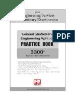 GS & Engg. Aptitude (Practice Book) 2020_Sampe Page