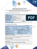 Activities guide and evaluation rubric - Step 1 - Identification of stakeholder and environments of virtual course.docx