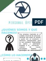 Presentación - Personal Óptica