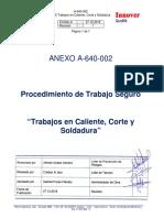 A-640-002 PTS Trabajo en Caliente%2c Corte y Soldadura.Rev1.