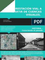 Forestación vial a partir de cuencas Visuales
