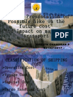 Future Cost of Shipping Presentation