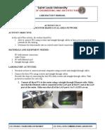 Activity 5 Data Communications