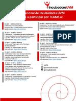 Agenda Conferencias 20-24 abril