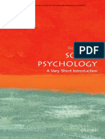 Social Psychology A Very Short Introduction OXFORD.pdf