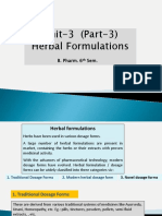 7-Herbal formulations