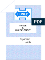 Honel Expansion Joints
