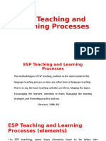 ESP Teaching and Learning Processes.pptx