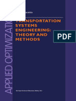 Transportation Systems Engineering_ Theory and Methods