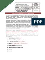 for-cb-008 estudios del sector - menor cuantia vr.03