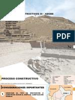 PROCESOS CONSTRUCTIVOS III – ADOBE