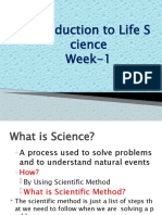 Introduction to Life Sciences