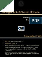 Membership Presentation Urticaria