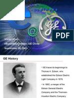 GE E-commerce Presentation