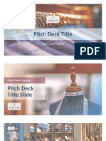 Pitch Deck Title