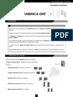 Pulsador Gama Inalámbrica GRF