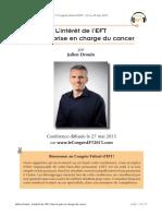 EFT et cancer