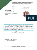 rapport de stage sonabhy Barth apc-cq