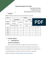 composicion quimica de la cedula, normas APA