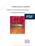 Small Business Guide Risk Assessment Hairdressing