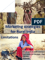 Marketing strategies for Rural India