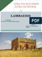 Lambaesis
