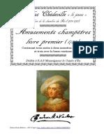 Chedeville,_Amusements_champètres,_Livre_premier 1735 - 3 suite a 2 musettes e 3 suite musette e bc
