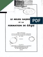 Le Milieu Baṣrien Et La Formation de Ǧāḥiẓ by Pellat, Charles (Z-lib.org)