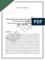 External Aids to Interpretation