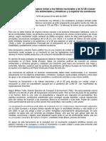 Manifiesto por un plan de recuperación económica europea que sea verde