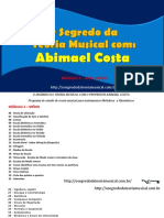 Livro ''O Segredo Da Teoria Musical'' (2019)