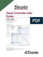 DanteController user guide