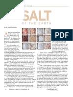 Conscious Eating - Salt