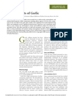 Health Effects of Garlic